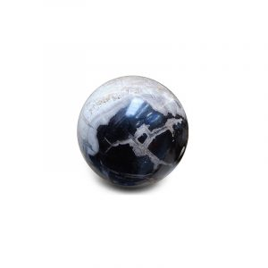 Fossil Wood Gemstone Sphere (19 cm)