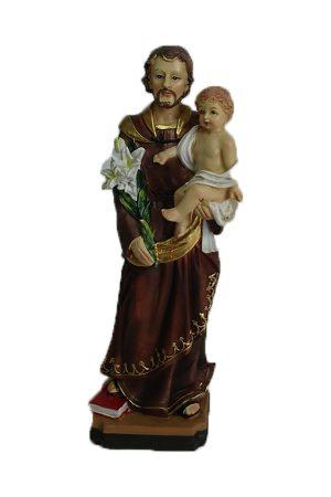 Beelden van St. Jozef (20 cm - 3 stuks)