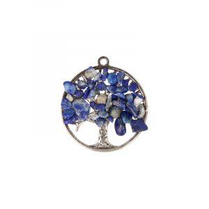 Lapis Lazuli Tree Pendant (30 mm)