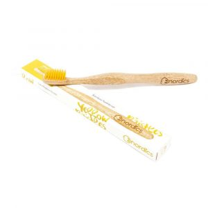 Vegan Toothbrush - Yellow