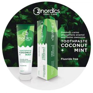 Organic toothpaste Coconut Mint
