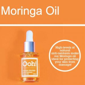 Vegan Organic Moringa Anti-Oxidant Face Oil