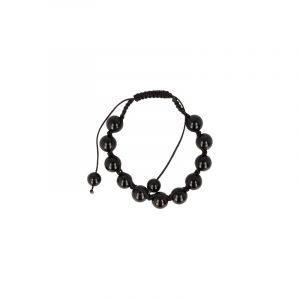 Onyx Shamballa Bracelet (10 mm)