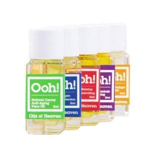 Vegan Travelset (Set of 5 x Face Oil)