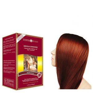 Vegan Hair Color Powder Burgundy
