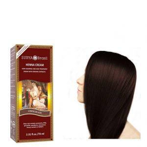 Vegan Hair Color Cream Chocolate