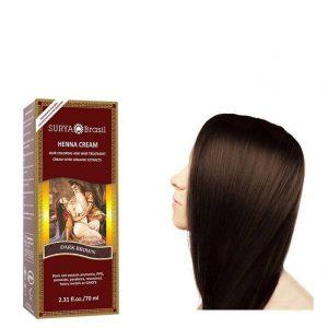 Vegan Hair Color Cream Dark Brown