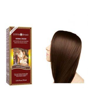 Vegan Hair Color Cream Light Brown