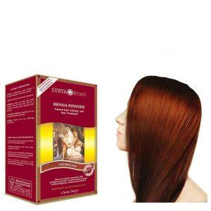 Vegan Hair Color Powder Mahogany