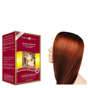 Vegan Hair Color Powder Red