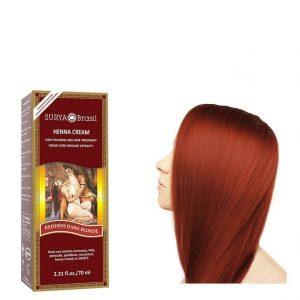 Vegan Hair Color Cream Reddish Dark Blond