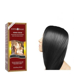 Vegan Hair Color Cream Black