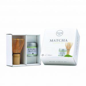 Vegan Tea Starter Set - Matcha and Bamboo Brush
