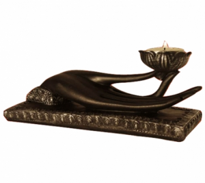 Atmospheric light Candle holder Mudra
