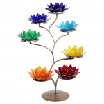 Chakra Lotus Display Metal with 21 Lotus Atmospheric Lights