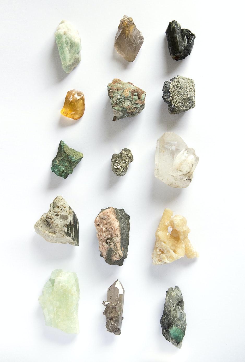 9 gemstones