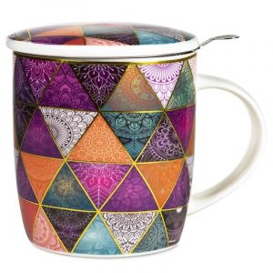 Tea Mug Set Patchwork