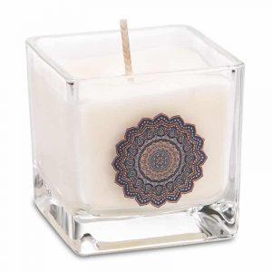 Rapeseed Wax Ecological Scented Candle Mandala