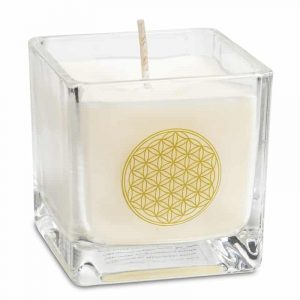 Rapeseed Wax Eco Scented candle Flower of Life