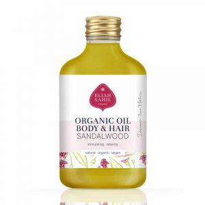 Vegan Skin/Hair Oil Almond Sandalwood BIO