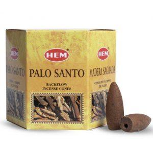 HEM Backflow Incense Cones Palo Santo (12 cones)