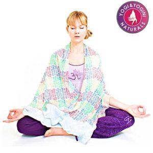 Meditation Shawl Gayatri Mantra
