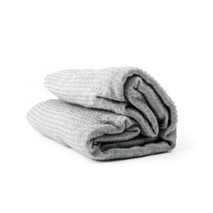 Yoga Towel Silicon Antislip Grey