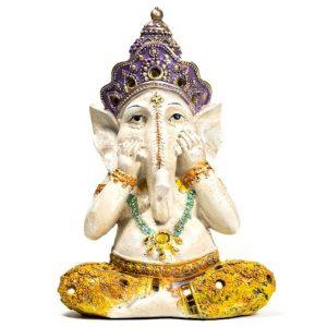 Yoga Ganesha Statue