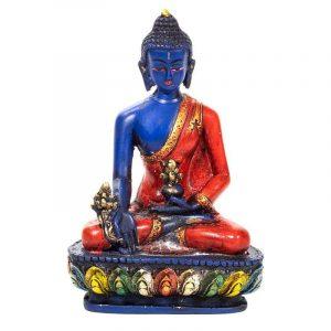 Medicine Buddha Colored (14 cm)