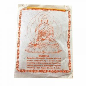 Smoking powder Tibetan Buddha