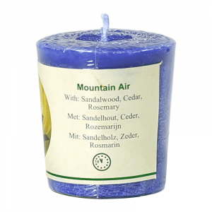 Chill-out Odour candle Mountain Air Stearin