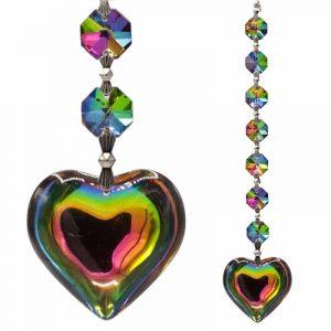 Aurora Heart Feng-Shui Chakrak crystals (Model 2)