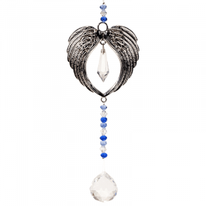 Feng Shui Decoration Angel wings and Crystals Ball