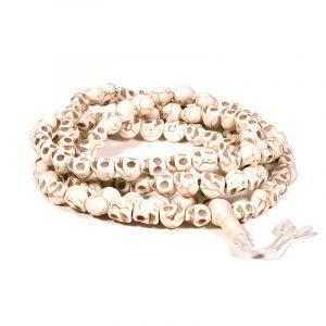 Mala Leg 108 Skull-shaped Beads with Guru Bead