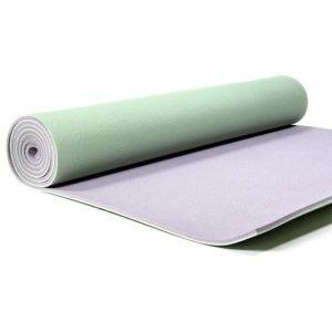 Yogi and Yogini PVC Yoga Mat Deluxe Green