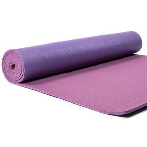 Yogi and Yogini PVC Yoga Mat Deluxe Purple