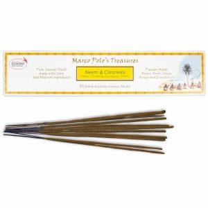Incense Marco Polo's Treasures Neem and Citronella