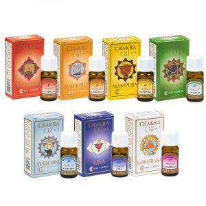 Set of 7 Essential Chakra Oils