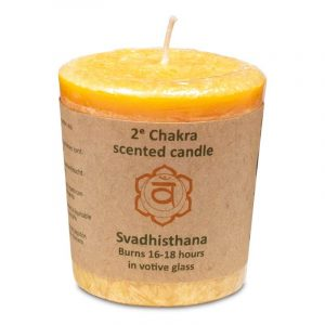 Odor candle Pattern 2nd Chakra