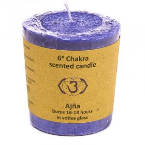 Odor candle Motive 6th Chakra