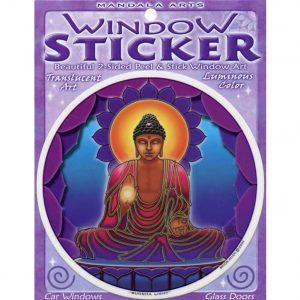 Window sticker Buddha Light