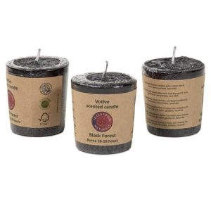 Scented Candle Black Forest