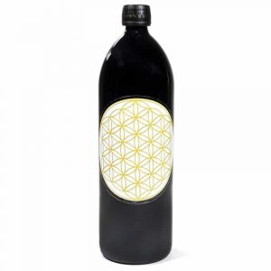 Drinking Bottle Miron Violet - Flower Of Life Gold
