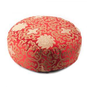 Meditation Cushion Lotus Red