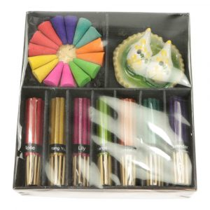 Gift Set Various Kinds of Incense and Cones with Incense Burner