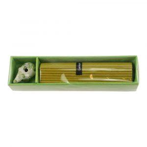 Gift Set Incense Lemon with Incense Burner Elephant (Green)