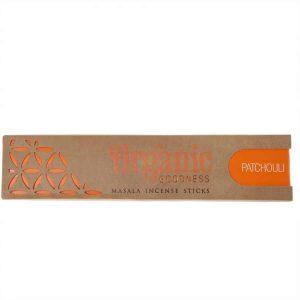 Incense Sticks Organic Masala Goodness Patchouli