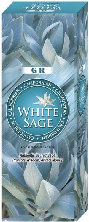 G.R. Garden incense White Sage (6 packages)