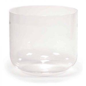 Kristallen klankschaal helder A-toon