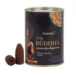 Goloka Backflow Incense Cones The Buddha